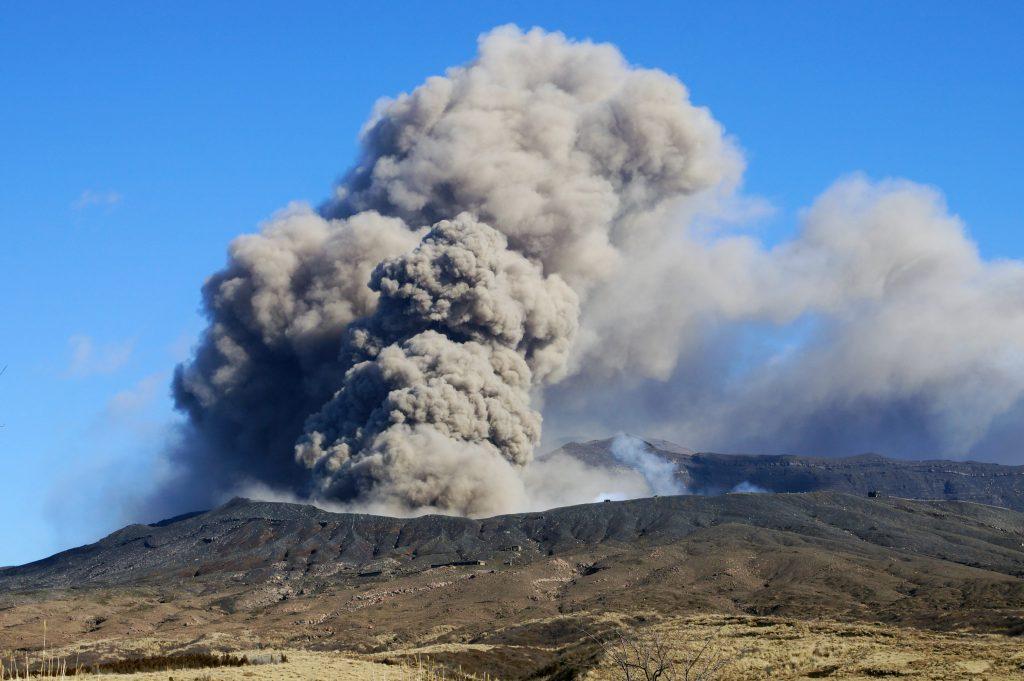 噴火によって発生する災害