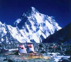 K2峰と非常食サバイバルフーズ