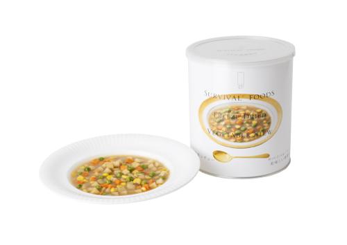 25年備蓄食のサバイバルフーズ・野菜シチュー